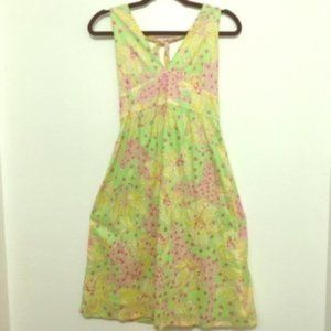 LILLY PULITZER FILLIES FOR LILLYS FLORAL DRESS